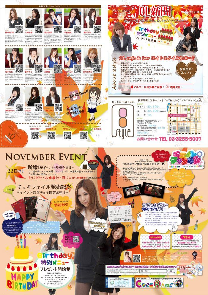 エイトスタイルOL新聞2014年11月版